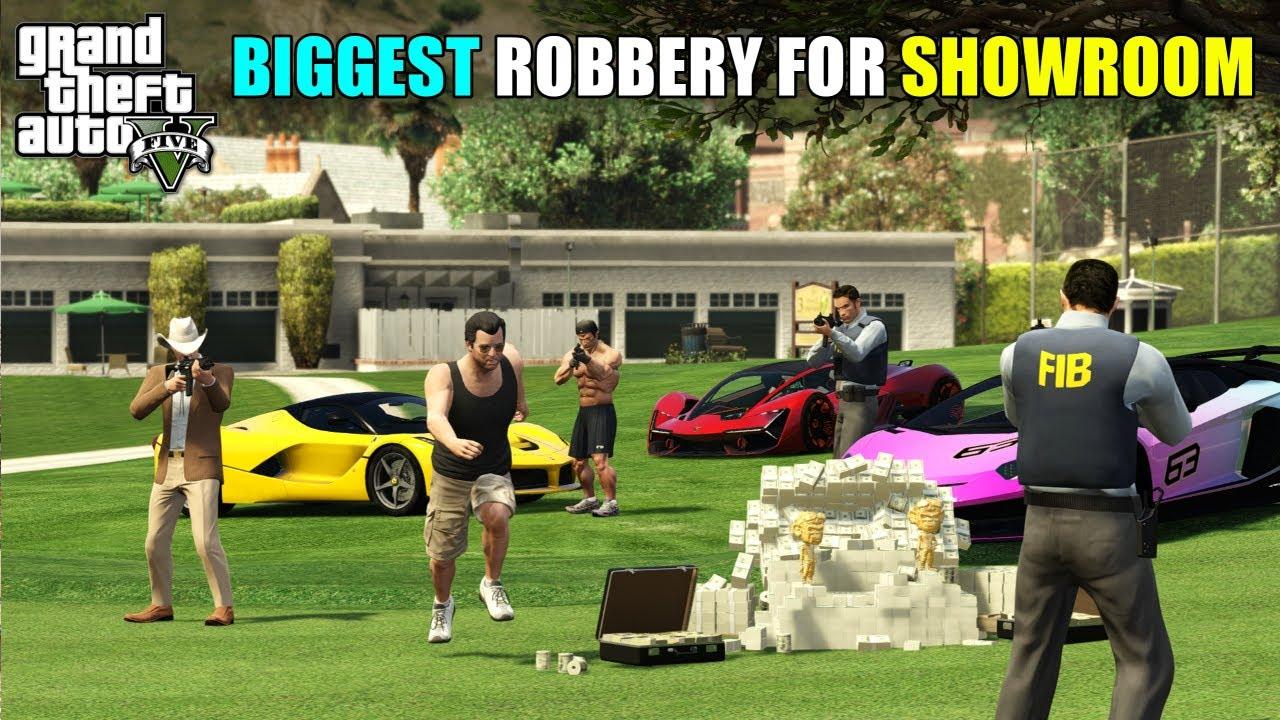 THE BIGGEST HEIST FOR NEW SHOWROOM   TECHNO GAMERZ   GTA 5 139   GTA V GAMEPLAY #139 @Techno Gamerz