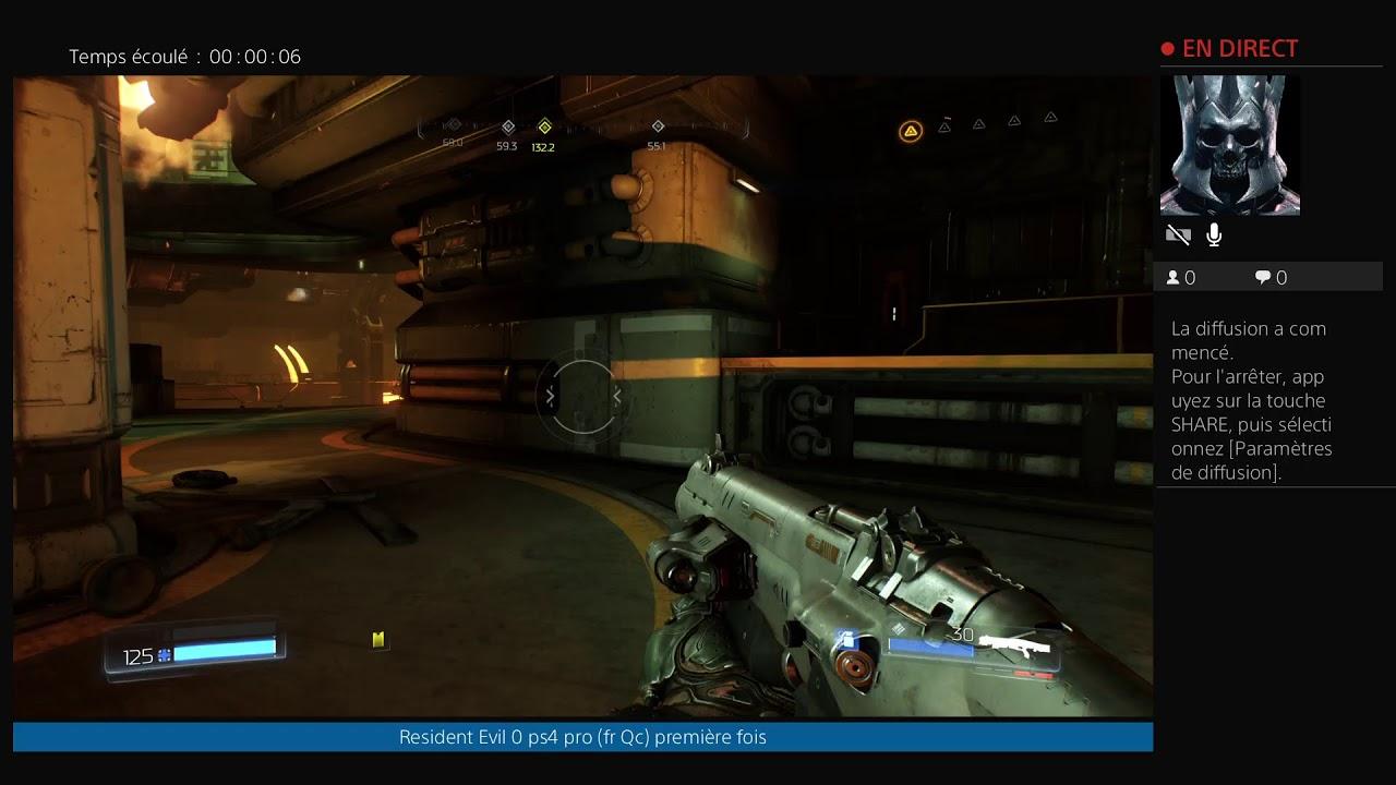 Diffusion DOOM PS4 PRO en direct de bastroy187