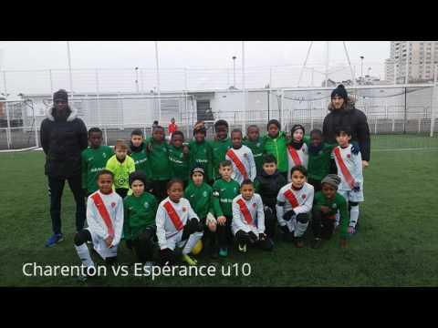 Match amicale u10. Charenton vs Espérance Aulnaysienne