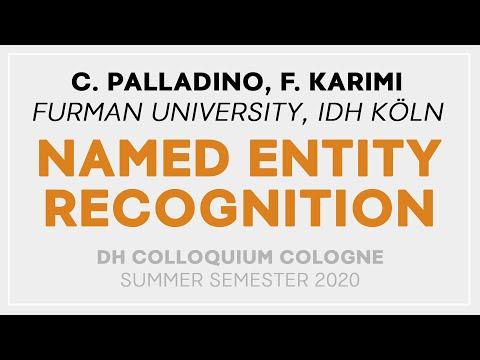 Chiara Palladino, Farimah Karimi: NER on Ancient Greek (DH Colloquium Cologne 2020)