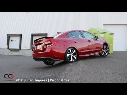 AWD Diagonal Test: 2017-2018 Subaru Impreza | Review Part 7/8