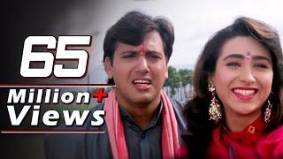 vuclip Govinda, Kadar Khan, Karishma Kapoor, Raja Babu - Emotional Scene 13/21