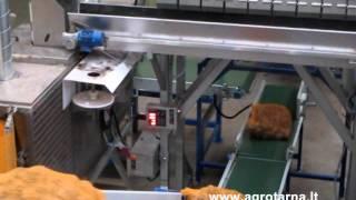 AGROTARNA weigher NEWTEC 2009XB palletizer VERBRUGGEN VPM-10
