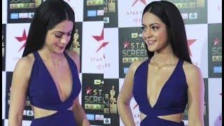Anya Singh Hot At Star Screen Awards 2018