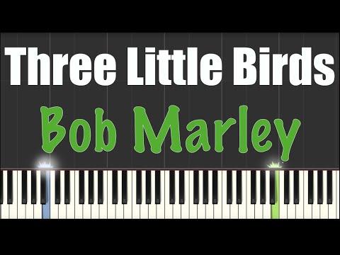 three little birds piano pdf