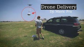 Mavic Pro - drone delivery Home