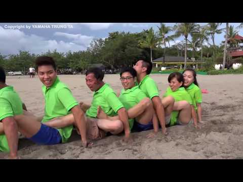 Yamaha Bali Team -  Team Building Game tại Bali Indonesia ✔