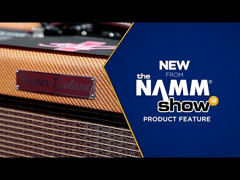 Live at NAMM 2016 - Fender Deluxe The Edge Amp