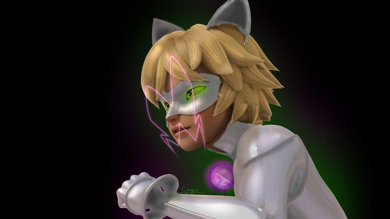 Miraculous LadyBug Speededit: Evil Cat Noir
