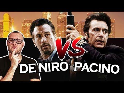 ROBERT DE NIRO VS Al PACINO ! Qui a eu la meilleure carrière ? 1/2 siècle de films !