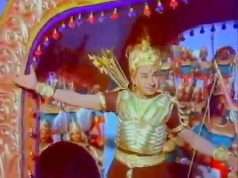 Yaaru Thiliyaru Ninna Bhuja Bhaladha Parakrama  - Babruvahana: Film :  Babruvahana Music: T G Lingappa Lyrics : Hunsur Krishnamurthy Singers: P B Srinivas & Dr Raj