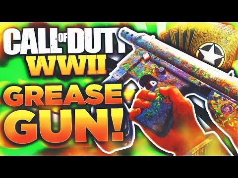 "EPIC GREASE GUN DESTROYS EVERYONE! - WORLD WAR 2 ""GREASE GUN BEST CLASS""! (WW2 Brandi Grease Gun)"