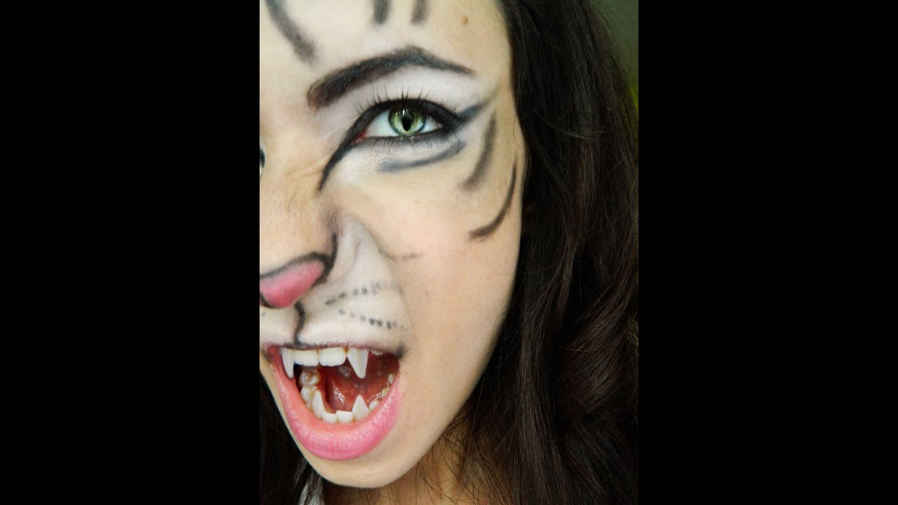tiger halloween makeup tutorial feat sigma bare palette youtube - Tiger For Halloween