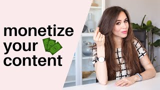 How To MONETIZE Your Content Like A Pro In 2019 // Kimberly Ann Jimenez