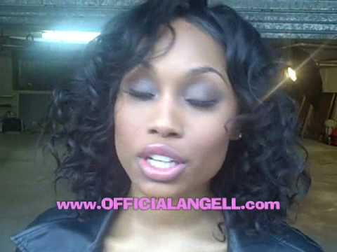 Angell Conwell takes a Break to Say What Up