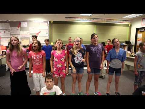 Reinhardt 5th Grade Class 2014-2015 Best Day Of My Life