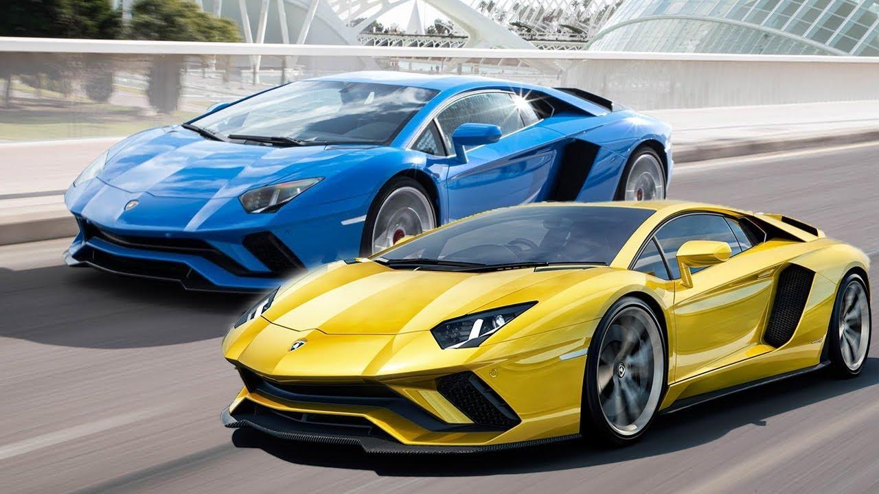 4K HDR Video - Exotic Cars - Lamborghini At Auto Show And ...