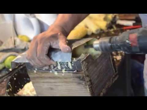 rallador de choclos para usar con taladro