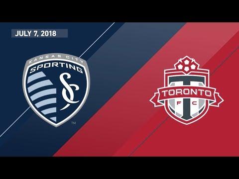 HIGHLIGHTS: Sporting Kansas City vs. Toronto FC | July 7, 2018