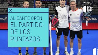 #ElPartidoDeLosPuntazos: Coello y Lamperti VS Lima y Tapia en el Estrella Damm Alicante Open 2021