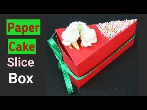 Paper Cake Slice DIY | Friendship Day Gift Ideas | Ayushi Aditi Card Zone |
