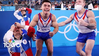 ROC dazzles in emotional win, first team gymnastics gold in 25 years | Tokyo Olympics | NBC Sports