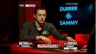 Amazing bluff in poker