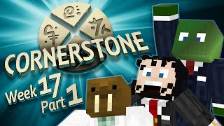 Minecraft Cornerstone - Burn it down! (Week 17 Part 1)