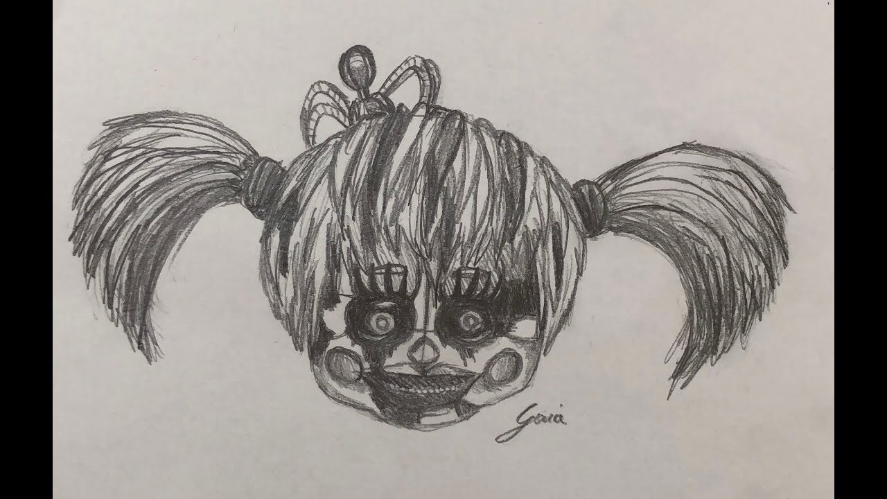 how to draw fnaf 6