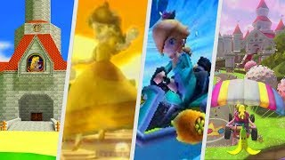 Evolution of Peach, Daisy & Rosalina Courses in Mario Kart Games (1996 - 2018)
