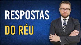 NOVO CPC - RESPOSTAS DO RÉU