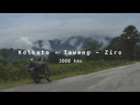 Kolkata Tawang Ziro Guwahati Ride (Arunachal Pradesh Motorcycle Road Trip)