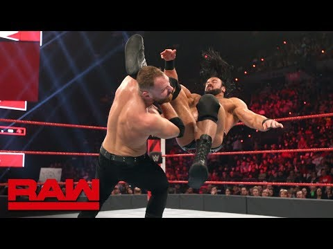 Dean Ambrose vs. Drew McIntyre: Raw, Feb. 18, 2019 thumbnail