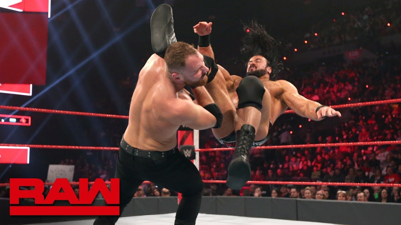 Dean Ambrose vs. Drew McIntyre: Raw, Feb. 18, 2019