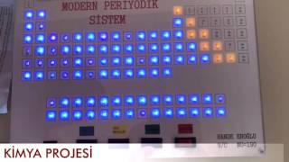 Işıklı Periyodik Sistem ( DENEY MEKTEBİM )
