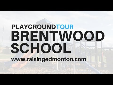 Edmonton Playgrounds: Brentwood School Playground (Sherwood Park)