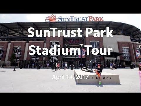 Atlanta Brave's SunTrust Park Stadium Tour - FIRST EVER OFFERED