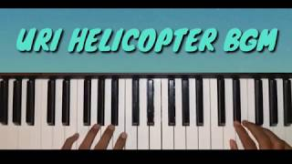 Uri movie helicopter bgm cover | piano tutorial | with nots
