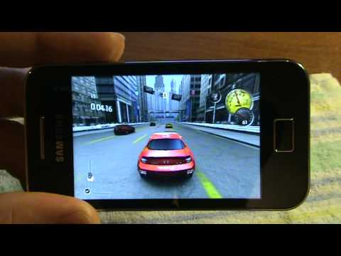 Samsung S5830 Galaxy Ace NFS Shift Game