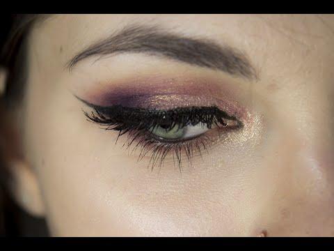 Makijaż Ciepły Wieczorowy Makijaż Dla Zielonych Oczu Youtube