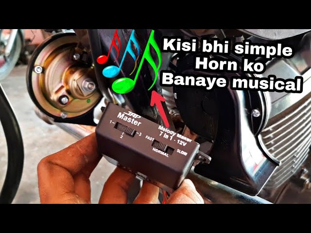 [SCHEMATICS_4US]  Air Horn Melody Maker IN HINDI - YouTube | Melody Maker Wiring Diagram |  | YouTube