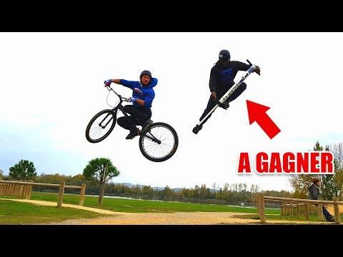 L'ENGIN LE PLUS FUN ! (Pogo vs Vélo) + Jeux Concours
