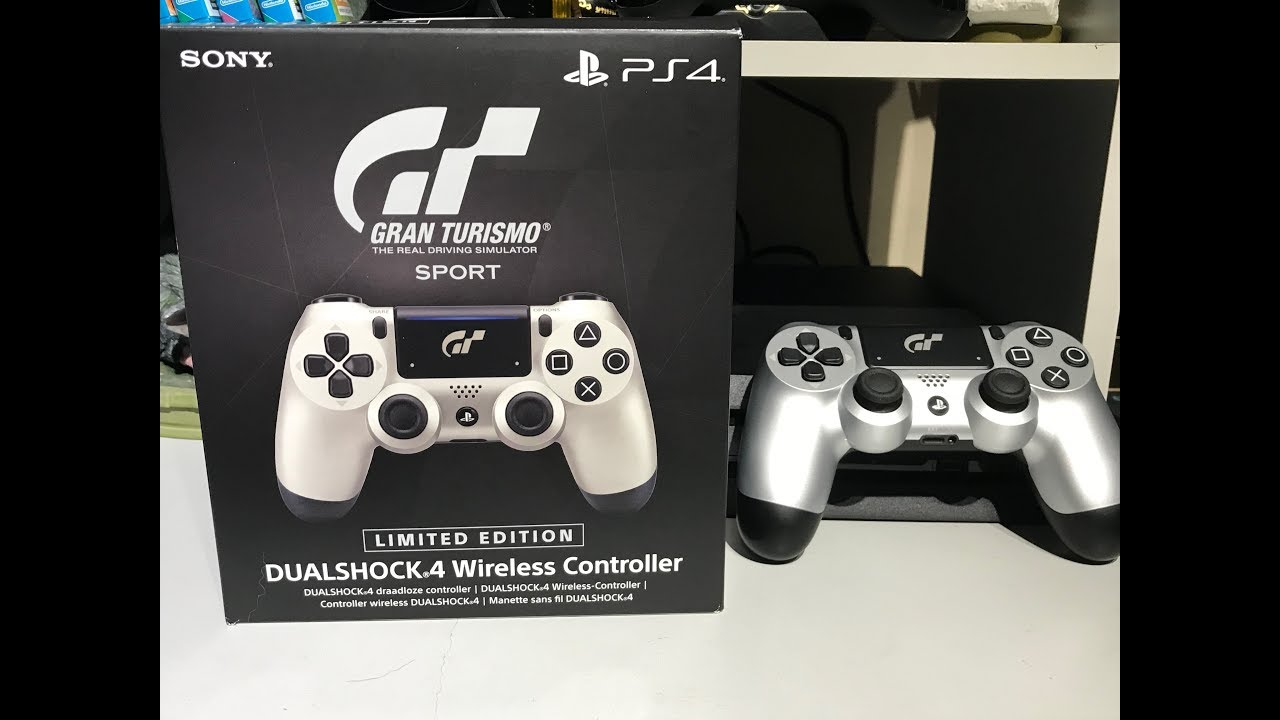 ec3894e4136 Gran Turismo Limited Edition Dual Shock 4 controller - Unboxing (PS4 ...