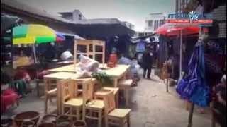 joyabaj Quiché en el día domingo de mercado