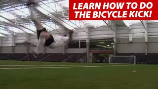 How To Do A Bicycle Kick In Soccer Football