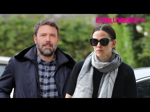 Ben Affleck & Jennifer Garner Put Divorce On The Back Burner & Attend Church Together 11.27.16