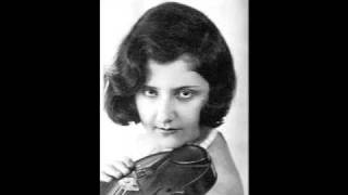 "Bach, ""Double"" Violin Concerto in d minor Mov II (Arnold and Alma Rosé) 1928"
