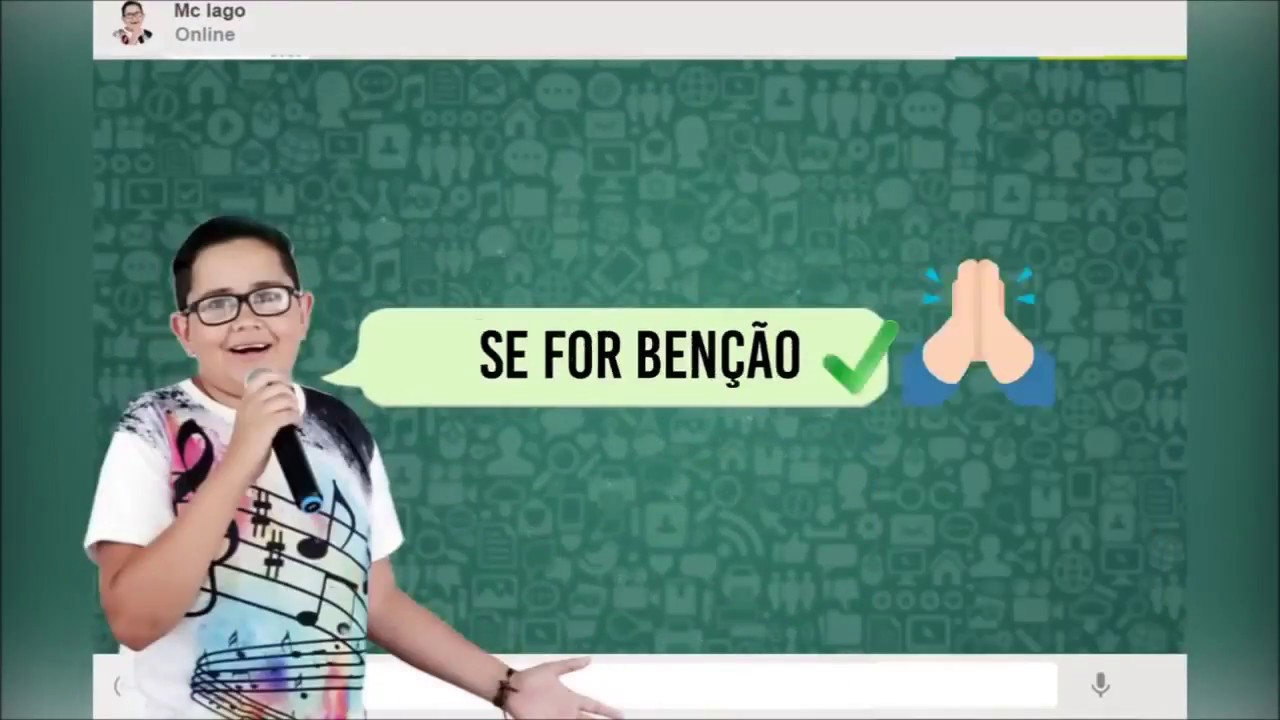 MC DIEGO ATALAIA E MC IAGO  - TE BLOQUEIO (Lyric Video)(FUNK GOSPEL 2018)