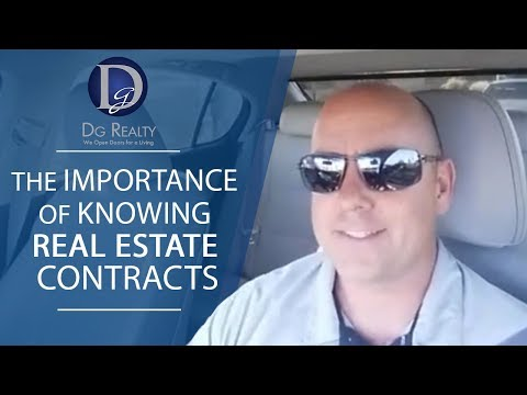 Las Vegas Real Estate: Knowing the Contracts in Real Estate
