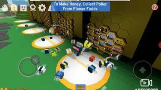 Roblox[fram hat cay nay mam va cai ket] bee swarm simulator